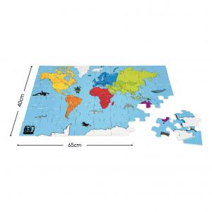Puzzle del mondo gigante Buitenspeel GA251