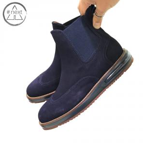Barleycorn - Air Chelsea Boot - Blue suede