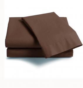 Lenzuola Maxi con angoli Scegli la dimensione del tuo materasso CACAO