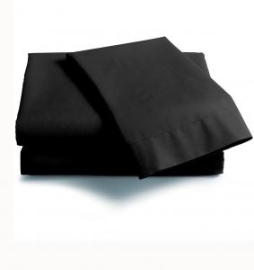 Lenzuola Maxi con angoli Scegli la dimensione del tuo materasso NERO
