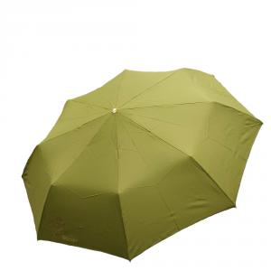 Braccialini - Ombrello Mini Verde con Stampa Rosa Dorata cod. BC838