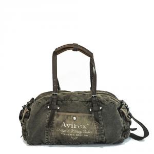 Avirex - 140506 - Borsone unisex 1 scomparto verde militare cod. A