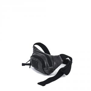 Avirex - Buffalo - Marsupio in pelle unisex 1 scomparto nero cod. 12A