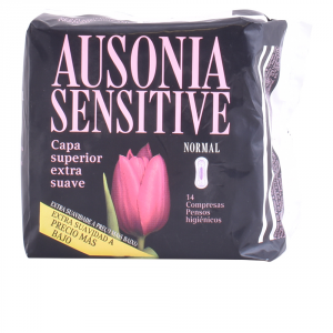 Ausonia Sensitive Normal Sanitary Towels 14 Units