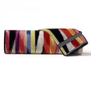 Set Asciugamani Missoni 1 asciugamano + 1 ospite HOMER 156 multicolore