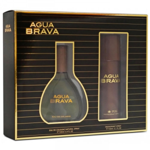 Puig Agua Brava Eau De Cologne Spray 100ml Set 2 Parti