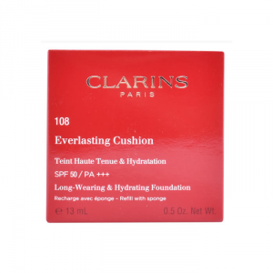 Clarins Everlasting Cushion Foundation Spf50 108 Recharge 13ml