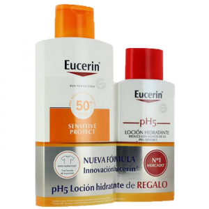 Eucerin Sun Lotion Extra Light Sensitive Protect Spf50+ 400ml Set 2 Parti 2018