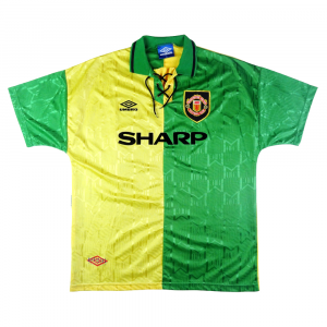 1992-94 MANCHESTER UNITED/NEWTON HEATH MAGLIA TERZA XL  (Top)