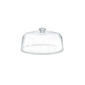Campana Cloche Coprivivande in vetro cm.14,6h diam.28