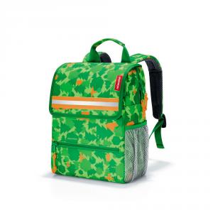 Reisenthel - Zaino scuola da bambino multiclore fantasia bosco verde cod. IE5035