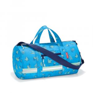 Reisenthel - Mini Maxi Duffle S Kids - Borsa da ginnastica bambino cactus blu cod. IH4049