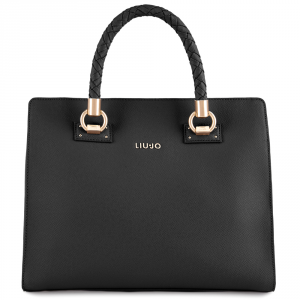 Hand and shoulder bag Liu Jo MANHATTAN N68093 E0087 NERO