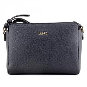 Hand and shoulder bag Liu Jo MANHATTAN N68093 E0087 GRAPE JUICE METAL