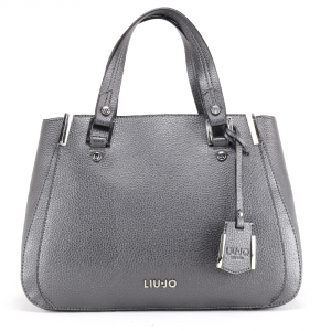 Hand and shoulder bag Liu Jo ISOLA N68013 E0033 GRAPE JUICE METAL