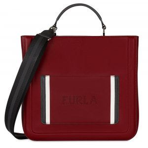 Hand and shoulder bag Furla REALE 985432 CILIEGIA d