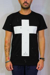 T-shirt con Croce Berna