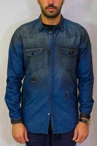 Camicia Jeans con strappi