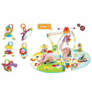 Palestra Giostra per Bambini a 3 Fasi Gymotion Activity Yookidoo 40126