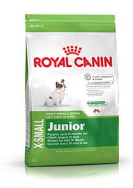 X-Small Junior Per cuccioli fino a 10 mesi di età confezione 500gr