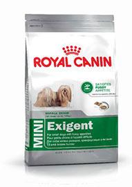 MINI EXIGENT cani di piccola taglia con appetito capriccioso confezione 800gr