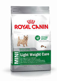 MINI LIGHT WEIGHT CARE cani con tendenza ad ingrassare