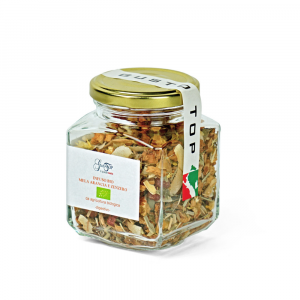 Infuso Bio Mela, Arancia e Zenzero confezione da 60 gr