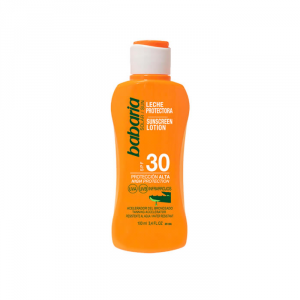 Babaria Sunscreen Lotion With Aloe Vera Spf30 100ml