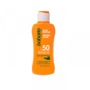 Babaria Sunscreen Lotion With Aloe Vera Spf50 100ml