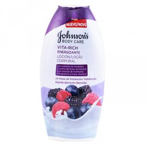Johnsons Vita Rich Energizing Raspberry Body Lotion 400ml