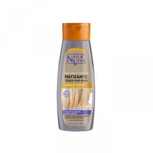 Naturaleza Y Vida Toner Hair Mask Blonde 300ml