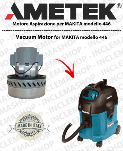 446 Vacuum Motor Amatek  for vacuum cleaner MAKITA