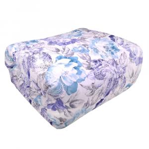 Trapunta invernale matrimoniale HAPPIDEA 260x260 cm Zefiro floreale bluette