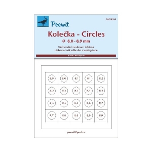 CIRCLES 8,0 - 8,9 MM