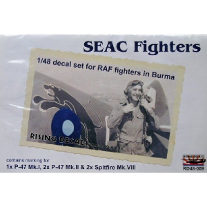 SEAC FIGHTERS (5X CAMO SCHEMES)