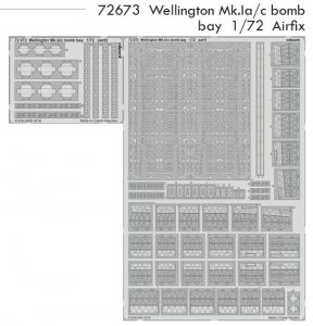 Wellington Mk.Ia/c bomb bay AIRFIX