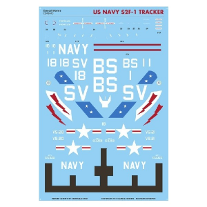 US NAVY S-2A TRACKERS