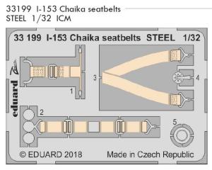 I-153 Chaika seatbelts STEEL ICM