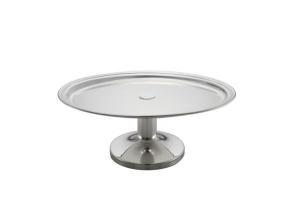 Vassoio ovale con base da buffet argentato argento sheffield cm.34x24x13h