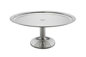 Vassoio ovale con base da buffet argentato argento sheffield cm.42x32x19h