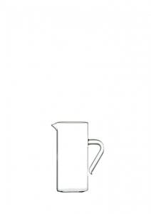 Caraffa in vetro con manico ml 250 cm.13,5h diam.6
