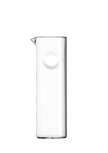 Caraffa in vetro borosillato senza manico ml 1000 cm.26h diam.8