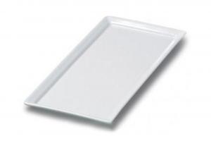 Vassoio rettangolare porcellana sushi cm.37,5x27,5x2h