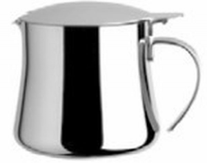 Teiera 4 tazze 60 cl in acciaio argentato argento sheffield cm.10h diam.8,5
