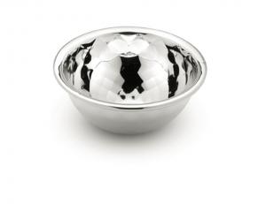 Ciotolina liscia in argento argentato sheffield