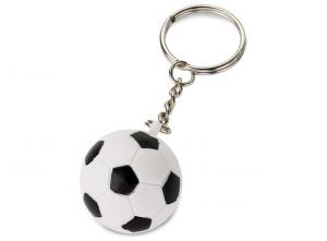 Portachiavi pallina da calcio cm.12h diam.3