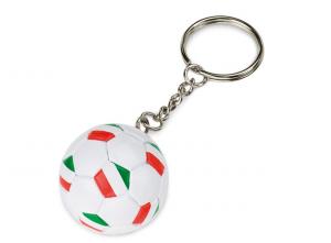 Portachiavi Pallone da Calcio Italia cm.3,5x3,5x12h