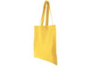 Borsa shopper gialla
