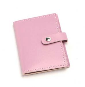 Portabiglietti da visita rosa cm.11x7,5x1h