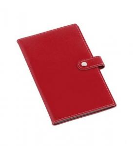 Portabiglietti da visita rosso cm.19,5x11x1h